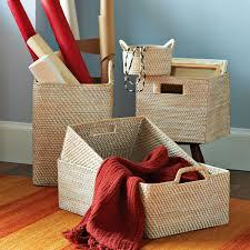 modern storage baskets for home decor house design
