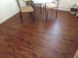 Rustic Wood Laminate Flooring Allure Floating Vinyl Plank Flooring For Small And Rustic Dining