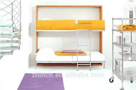 Wall Mounted Folding Bed Bunk Wall Bedsspace Saving Folding Hidden Bunk Wall Bed Wooden For