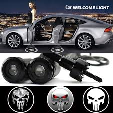 lexus logo projector puddle light 2 x car door light laser welcome ghost shadow projector punisher