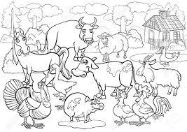100 ideas farm animals coloring pages on www gerardduchemann com