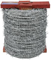 wire barbed wire high tensile 1 57mm heavy galvanised