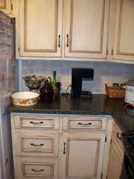 Distressed Kitchen Cabinets Distressed White Kitchen Cabinets Pictures Rustic White Painted