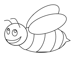 dessin de coloriage abeille à imprimer cp00056