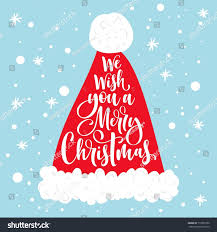 we wish you merry text stock vector 717899350