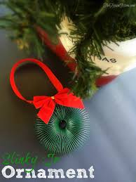 slinky wreath ornament the typical
