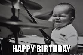 Drummer Meme - birthday drummer meme mne vse pohuj