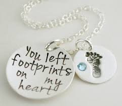 remembrance jewelry baby infant loss jewelry baby memorial jewelry footprints on my