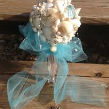 wedding bouquets with seashells best seashell bouquet products on wanelo