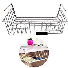 panier de basket bureau mocha storage rack hanging basket office cupboard fridge cabinet