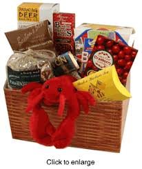 boston gift baskets boston deluxe food gift basket