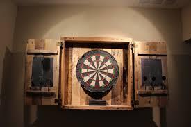furniture dart board cabinet winmau dartboard cabinet