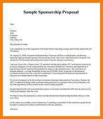 6 sponsor proposal letter janitor resume