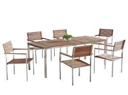 Teak Patio Furniture Set - teak patio dining set viareggio