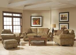 broyhill living room chairs broyhill furniture laramie chair and ottoman set w nail head trim