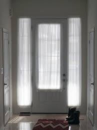 Privacy Sheer Curtains Best 25 Sidelight Curtains Ideas On Pinterest Door Window