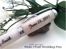 guest book pen white pearl wedding guest book pen crafted just for you free