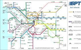 Las Vegas Tram Map Edinburgh Rail Map Edinburgh Train Station Map Scotland Uk