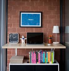 ikea wall mounted desk white diy floating build hack youtube