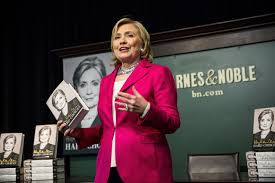hillary clinton u0027s book tour parallels an early presidential