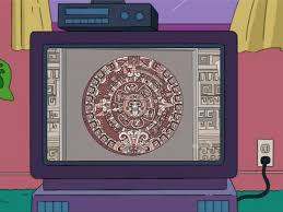 where did that come from all things mayanthe simpsons tapped out