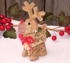 rena de rolha natal pinterest christmas decor and craft