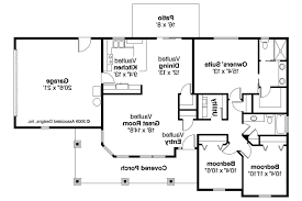 bungalow house plans garage home deco plans