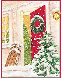 caspari cards amazing deal on entertaining with caspari snowy porch christmas