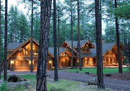 Log Home Styles Pinetop Summit Log U0026 Timber Homes