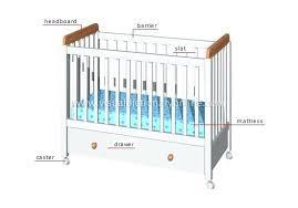 Dimensions Crib Mattress G Crib Silo Baby Size Standard 4 In 1 Convertible Mini On Me