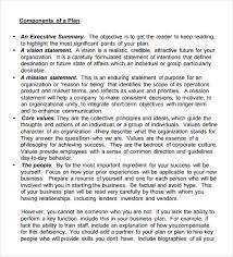 free business plan template pdf business plan exle exle of business plan 5 study