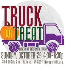 truck or treat ridge point community church