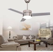 48 Inch Ceiling Fan With Light Aliexpress Buy Led Ceiling Fan Light 48inch European Fan