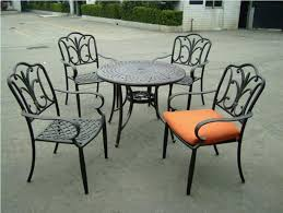 Wrought Iron Patio Tables Modern Outdoor Wrought Iron Patio Furniture With Outdoor Furniture