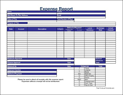 Excel Expense Report Template Free Free Detailed Contractor International Travel Expense Report From