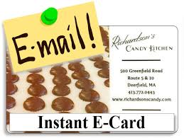 instant e gift card gift cards richardson s candy kitchen handmade chocolates and