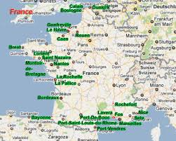 Dijon France Map by Supply Network Premier 6