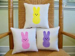 Easter Decorations Peeps by The Cutest Easter Decorations For Your Home Peeps Pillows A