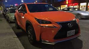 stand out in the parking lot 2017 lexus nx 200t f sport quick