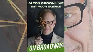 alton brown hits broadway during thanksgiving week chew boom