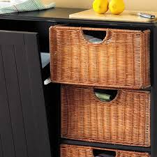 black trash bin storage table storage bins trash bin storage table with baskets sideboard kitchen black sei with regard to dimensions 1400 x