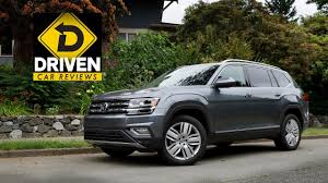 volkswagen atlas sel 2017 volkswagen atlas sel premium 4motion car review youtube