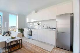 Apartment Kitchen Designs With Ideas Picture  Fujizaki - Apartment kitchens designs