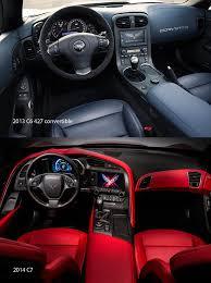 2014 corvette interior corvette c6 vs c7 interior autos