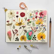 bullet flowers bullet journal personnalisé à l aide de fleurs custom your bullet