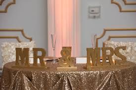 sweetheart table decor wedding reception sweetheart table decor with mr and mrs wedding