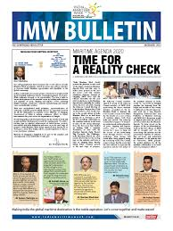 imw news letter 2 containerization cargo