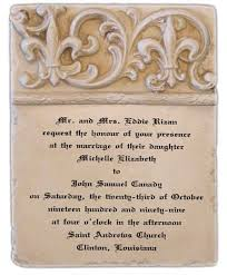 personalized wedding plaque wedding invitation plaque personalized wedding invitation