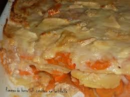 cuisiner les carottes pommes de terre et carottes en tartiflette chez vanda