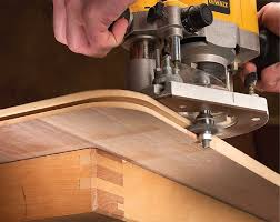 Wood Joints Using A Router by Curved Corner Edging Popular Woodworking Magazine